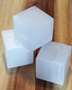 Selenite Cube XL 2""