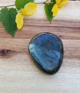 Large Labradorite Palm Worry Stone