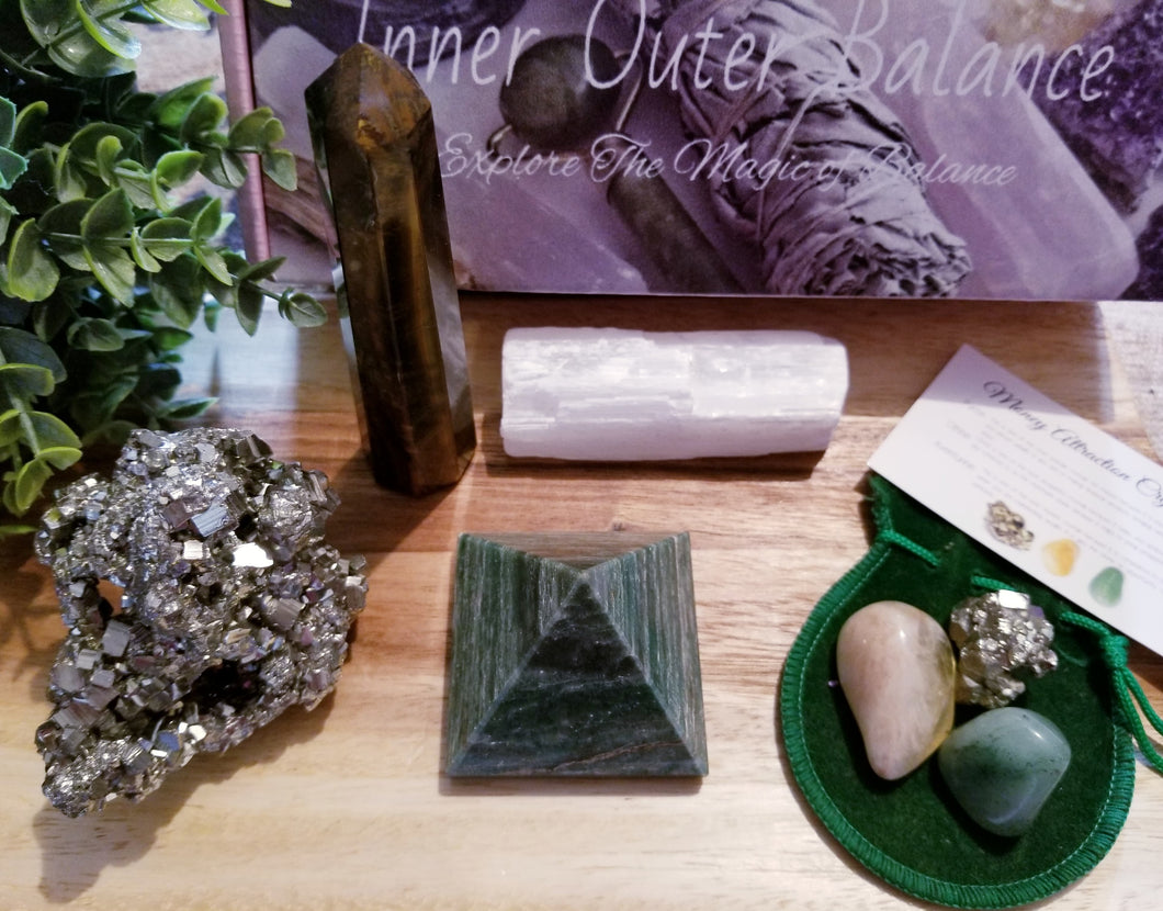 Deluxe Wealth Attraction Crystal Set