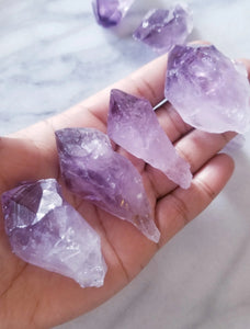 Amethyst Crystal Point
