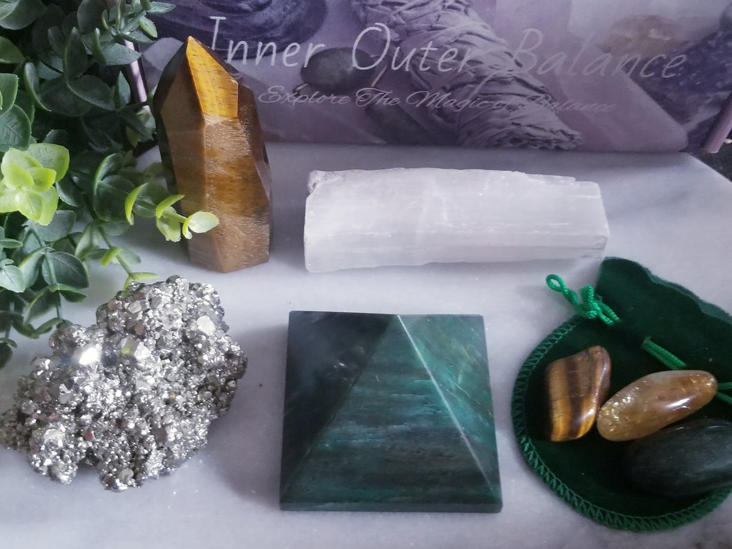 Deluxe Wealth Attraction Crystal Set 2.0