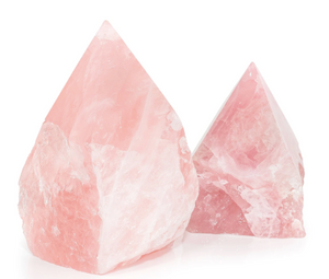 Rose Quartz Top Polished Points
