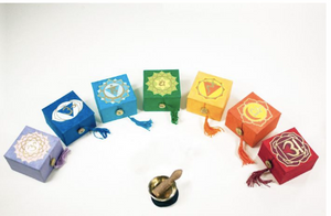 "Crown Chakra Mini Meditation Bowl 2"" With Gift Box"