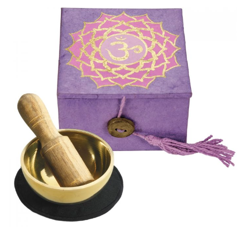 Crown Chakra Mini Meditation Bowl 2
