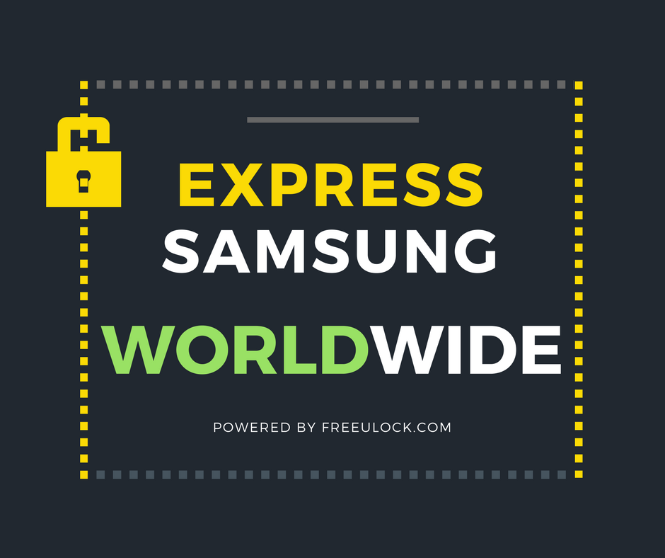 Samsung World-Wide Express Unlock Code