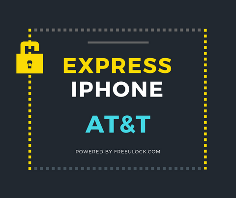 Express iPhone 7 AT&T Factory Unlocking Service