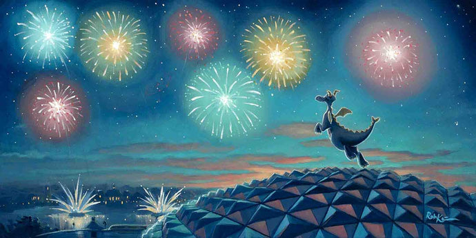 Best View In The House - official poster art of the Epcot International Festival of the Arts 2020