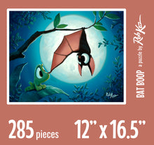 Fine Art Puzzles by Rob Kaz - Bat Boop, 285 pieces