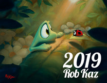 2019 Calendar by Rob Kaz