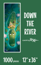 Fine Art Puzzles by Rob Kaz - Down The River, 1000 pieces