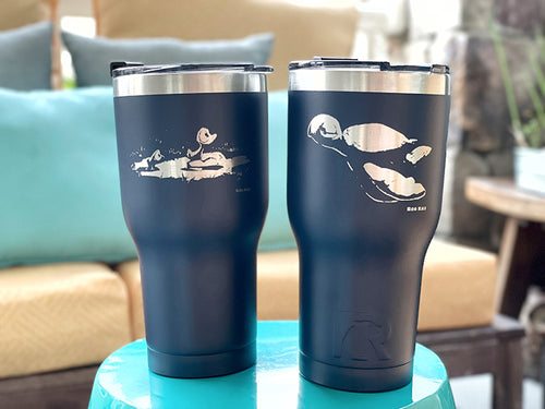 RTIC 30oz Stainless Steel Tumbler, double-sided engraving