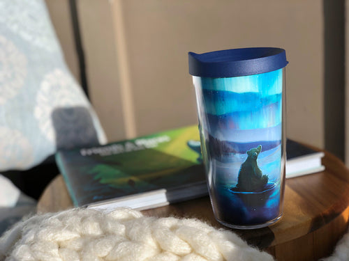 Winter 2020 Tervis Tumbler, Light Show by artist Rob Kaz