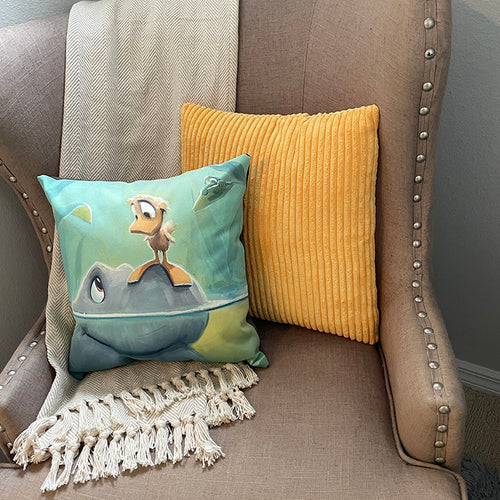 Throw Pillow, Headstand (Graytee and Ollie)