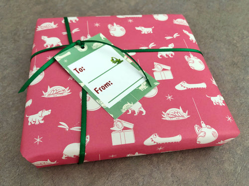 Wrapping Paper & Gift Tags