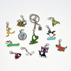 Toothpick charm - Friends Along The Way by Rob Kaz
