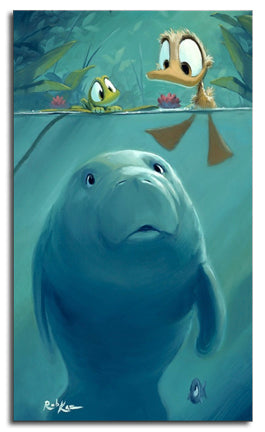 Beach Towel, Curious Sea Cow