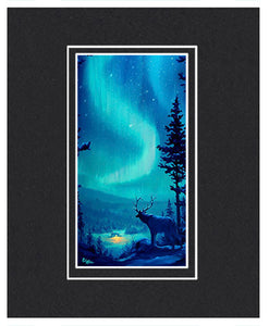 Northern Light - Matted Print, 11x14