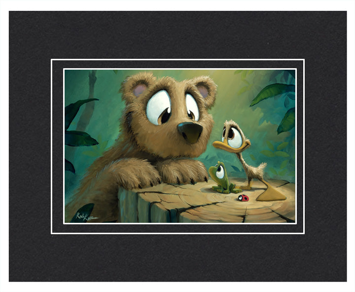 Bear Buddies - Matted Print, 11x14