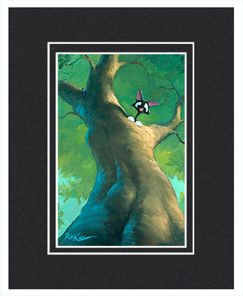 Treed - Matted Print, 11x14