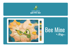 Bee Mine, A Paint-By-Number by Rob Kaz