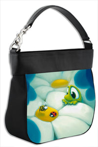 Handbag featuring Bee Ready by Rob Kaz, bag