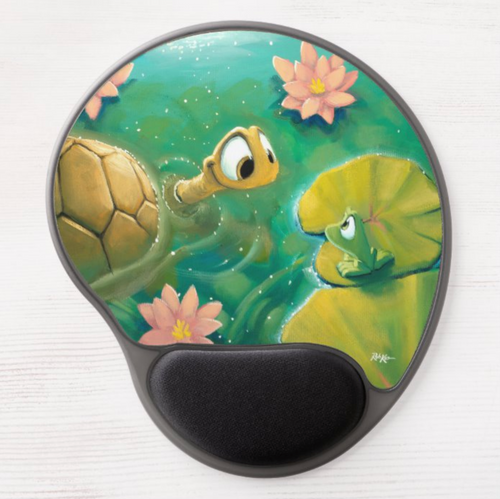 Gel Mousepads by Rob Kaz - Out For A Swim