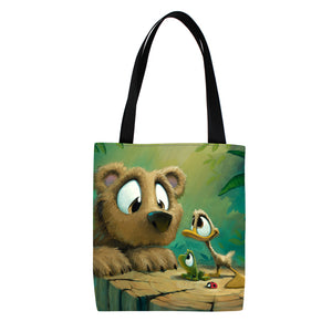 Bear Buddies Tote Bag
