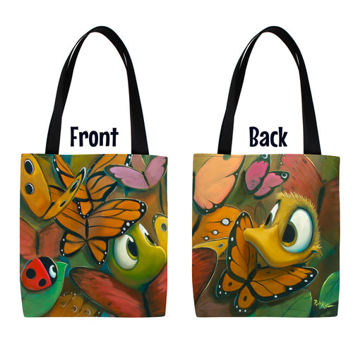 Butterflage Tote Bag