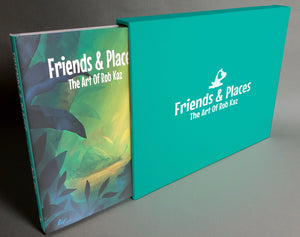 Slipcase for Friends & Places: The Art Of Rob Kaz (slipcase only, for book)