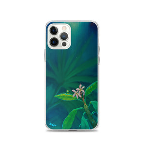 iPhone Case featuring Guarding Plumeria by Rob Kaz