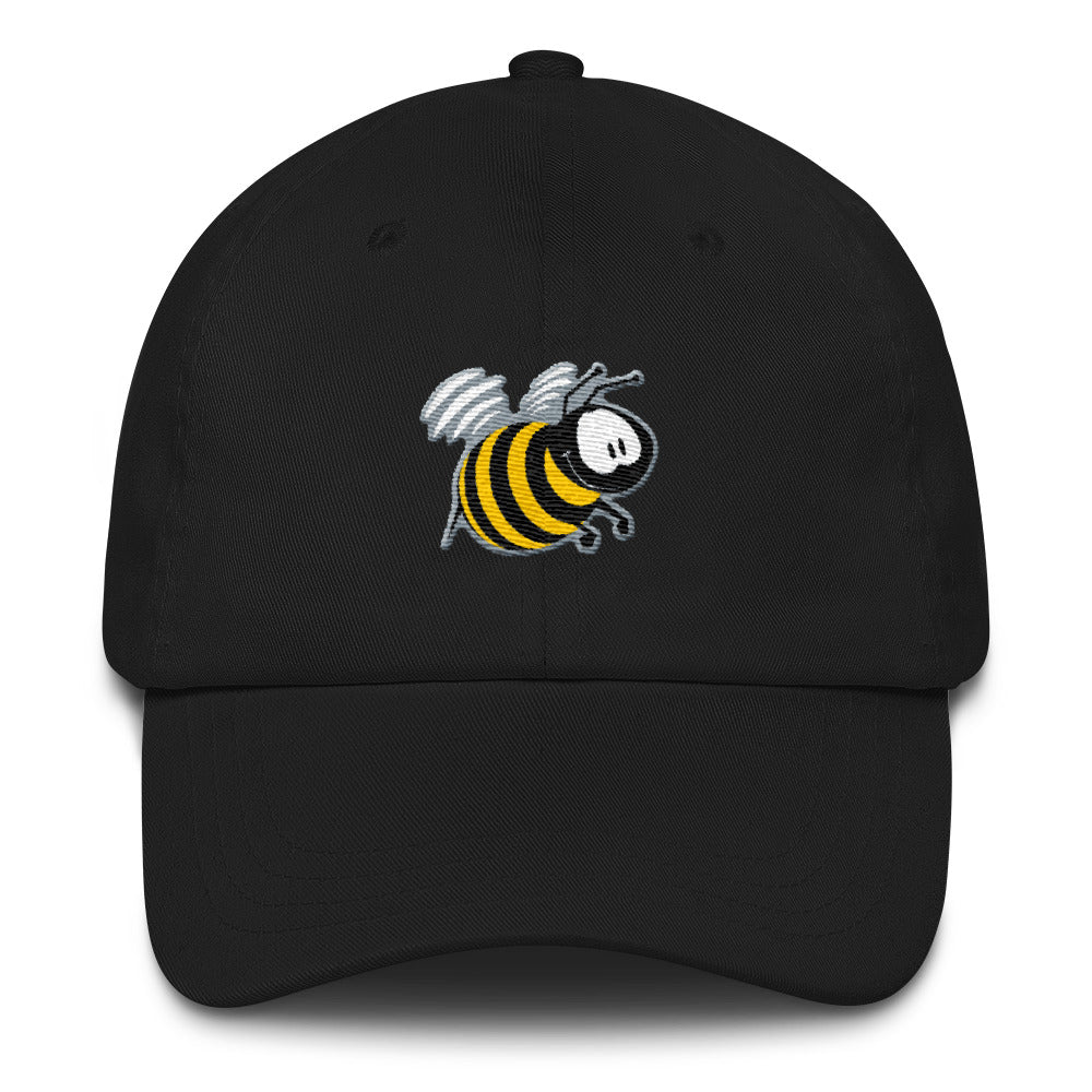Busy the bee by Rob Kaz, unstructured cap (more colors)
