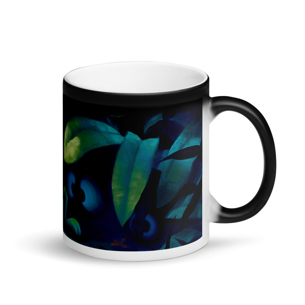 Magic Mug featuring Eyes On You by Rob Kaz
