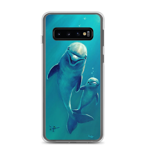 Samsung Case featuring Holding Fins by Rob Kaz