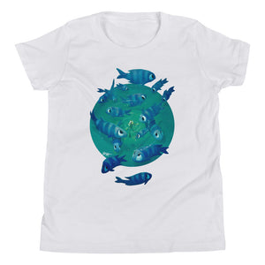 Youth Tee, Feeling Blue, Rob Kaz