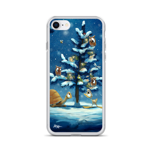 iPhone Case featuring Festive Friends by Rob Kaz