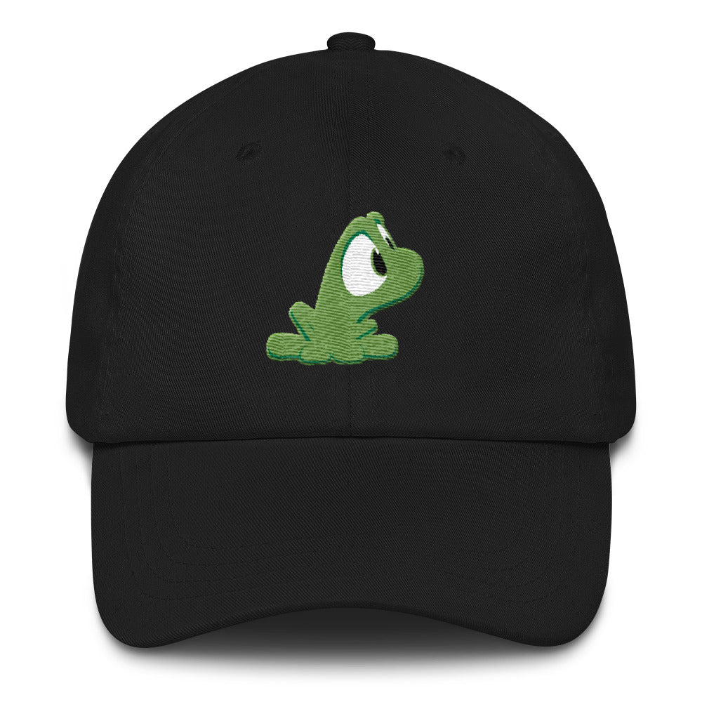Beau the frog by Rob Kaz, unstructured cap (more colors)