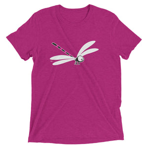 Lily the dragonfly t-shirt by artist Rob Kaz