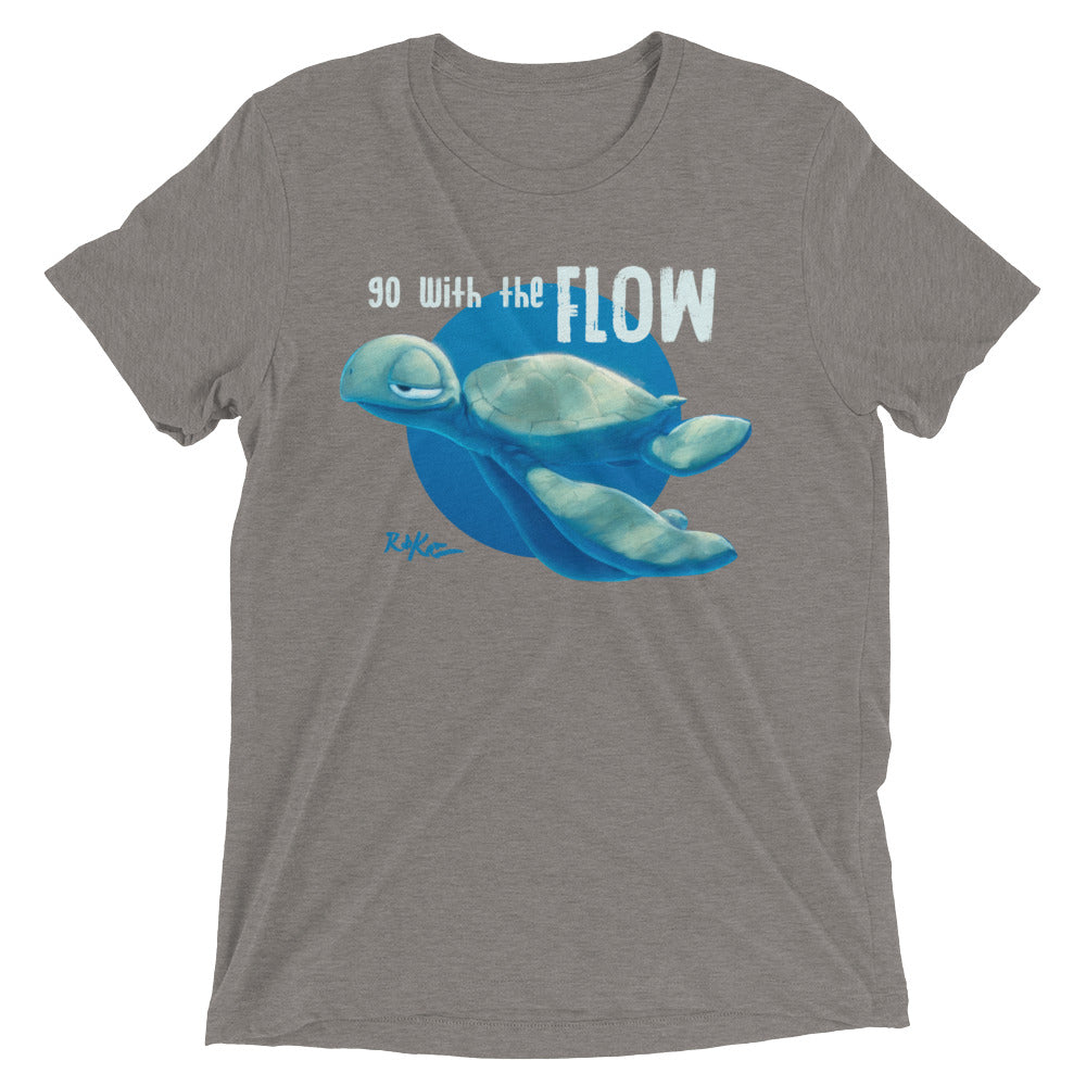 Go With The Flow tee by Rob Kaz