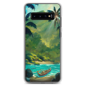 Samsung Case featuring Guarding The Outrigger by Rob Kaz