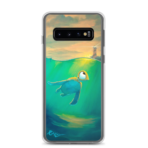 Samsung Case featuring Swim To The Light by Rob Kaz