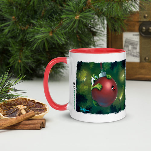 Recipes & Art Mugs: Hanging Decorations, Hot Mulled Cider