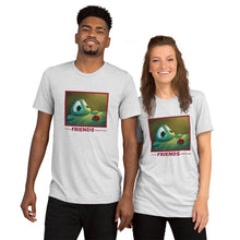 """Let's be FRIENDS along the way"" t-shirt with Beau & Red - multiple colors"