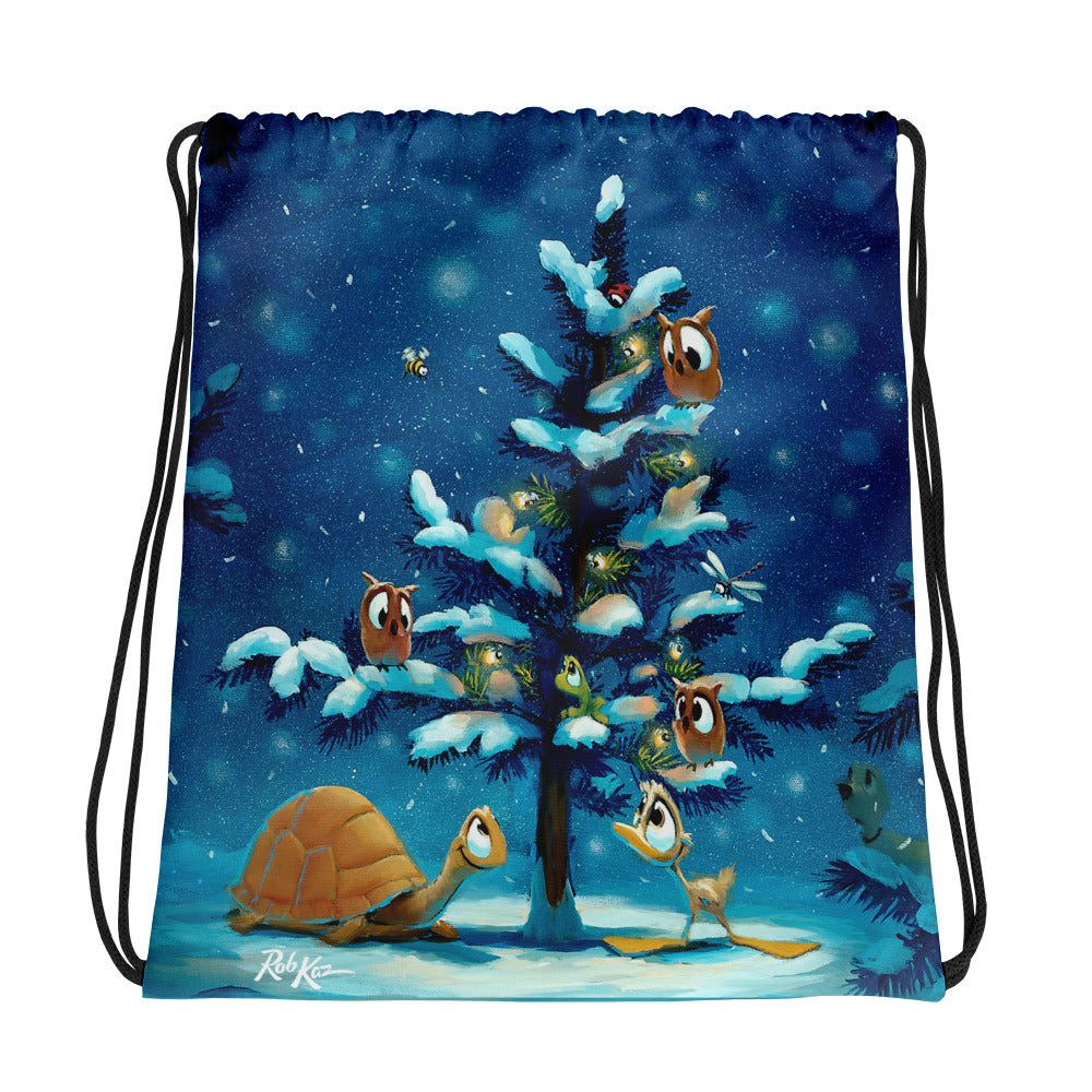 Reversible Drawstring Bag or Backpack by Rob Kaz