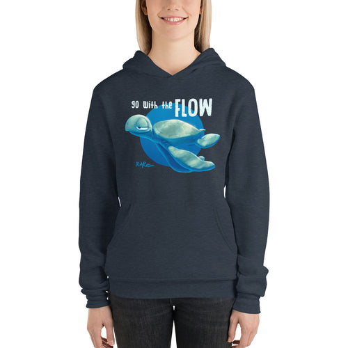 Go With The Flow hoodie by Rob Kaz