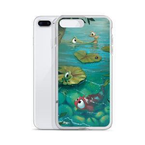 iPhone Case featuring Day In The Pond by Rob Kaz