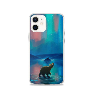 iPhone Case featuring Aurora Bearealis by Rob Kaz