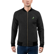 Zip-Up Sweater Jacket with embroidered Beau the frog