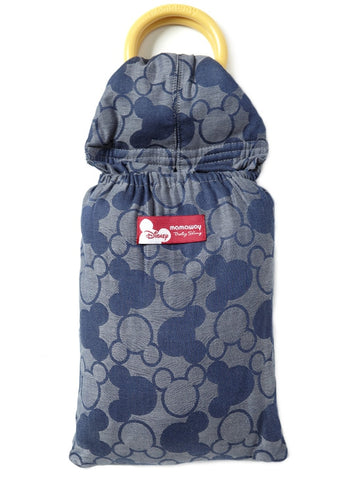 12812 Mamaway Baby Ring Sling Mickey Kaleidoscope Blue