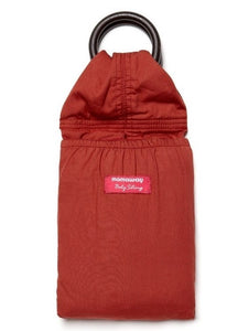 5998 Mamaway Baby Ring Sling Red Ochre