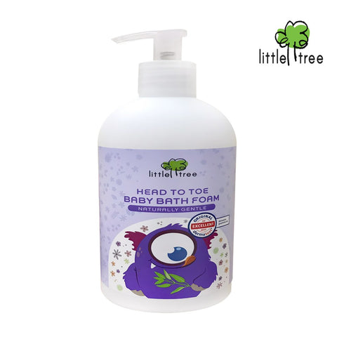 Little Tree Head to Toe Baby Bath Foam 400ml